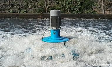 аэрация прудов и водоемов
