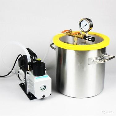 вакуумная камера дегазации силикона