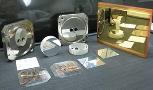 вакуумное магнетронное напыление